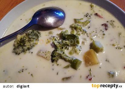 Brokolicovo smetanová polévka s brambory