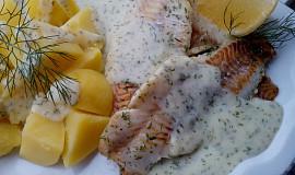 Filety s koprovým přelivem