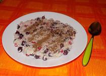 Jáhlová kaše s kokosem a ovocem