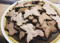 Kokosové sušenky se skořicí