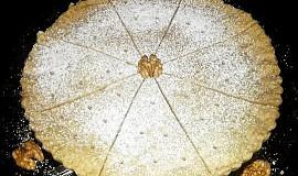 Křehký ořechový koláč