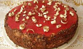 Rybízový dort