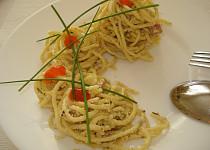 Špagety v nivě