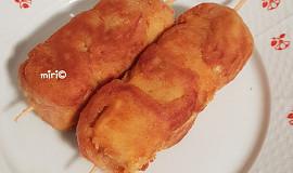 Špízy sýr-mortadela