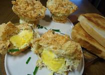 Sýrovo-vaječné muffiny