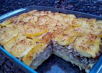 Zapečené brambory (těstoviny) s kapustovou směsí