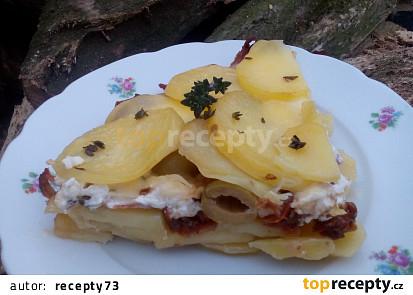 Zapékané brambory  à la Itálie