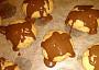 Arašídové sušenky polite čokoládou