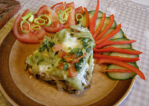 Brokolicovotěstovinový nákyp se sýrem