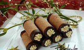 Čokoládové trubičky