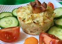 Kapustovo-sýrové muffiny