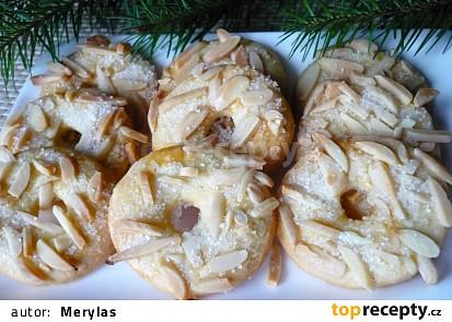 Mandlové nebo arašídové věnečky