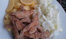 Rybí hranolky z tresky