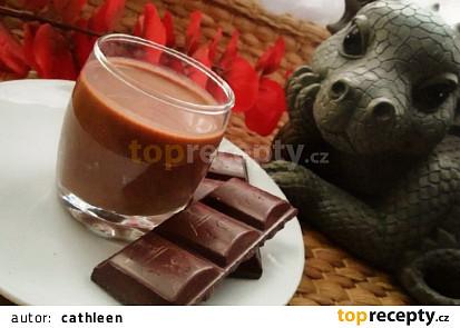Smetanový čokoládový likér