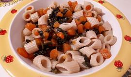 Těstoviny s mrkví a mangoldem - pro nejmenší