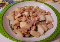 Vepřový plátek s brambory - pro nejmenší