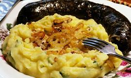 Zapražená bramborová kaše (staročeský recept)