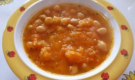 Mrkvovo-cizrnová polévka - pro nejmenší