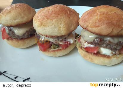 Párty miniburgery