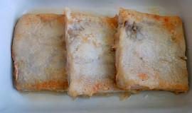 Rybí filé zapékané s červenou řepou