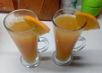 Vánoční pomerančový punč