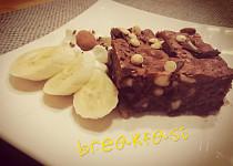 Brownies s kešu oříšky