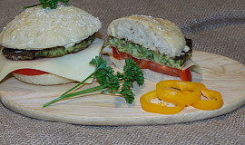Hamburgery šťastných kraviček