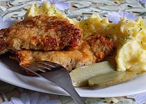 Jehněčí řízky v sýrové krustě