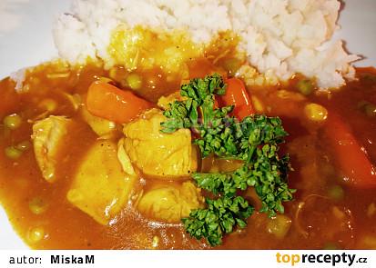 Kuřecí guláš se zeleninou