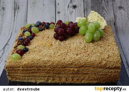 Medový dort (20x30)