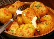 Pečené třepané brambory