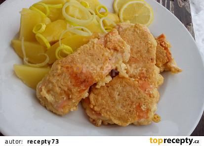 Ryba v kořeněném sezamovém těstíčku