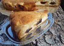 Tvarohovo-povidlový koláč