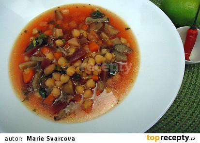 Barevná polévka nejen pro vegetariány