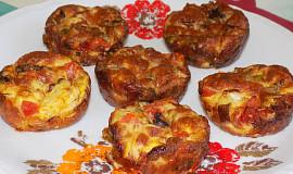 Cibulkové frittatas