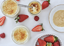 Crème brulée (vegan)