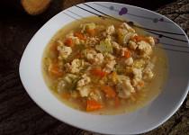 Farářská polévka / zeleninová s vaječnými nočky