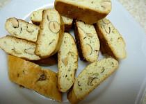 Italské mandlové sušenky - Cantuccini