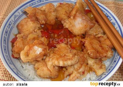 Sladkokyselé kuře, jak ho dělám já