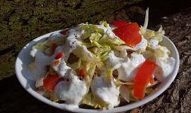 Tvarohová zálivka na zeleninové saláty