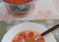 Vydatna ostrá polevka polévka nejen pro chlapy