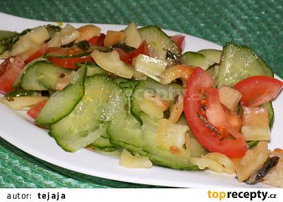 Zeleninový salát podle naší babičky
