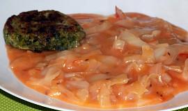 Zelí s rajčatovým protlakem