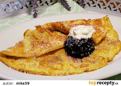 Banánová omeleta