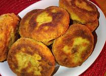 Bramborovo - bylinkové karbanátky s vůní česneku