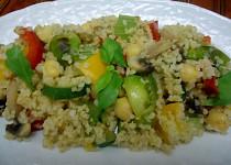 Bulgur, cizrna a zelenina