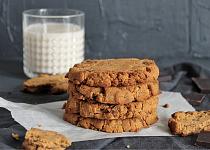 Čokoládové cookies (vegan)