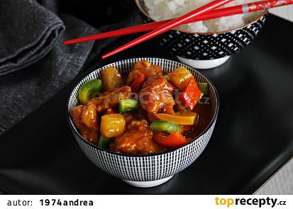 Sladkokyselé kuře (Sweet&Sour Chicken)
