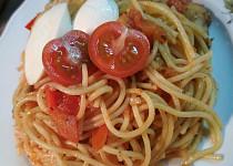 Špagety se zeleninou