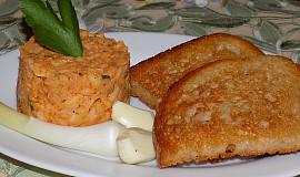 Tatarák z pečeného celeru